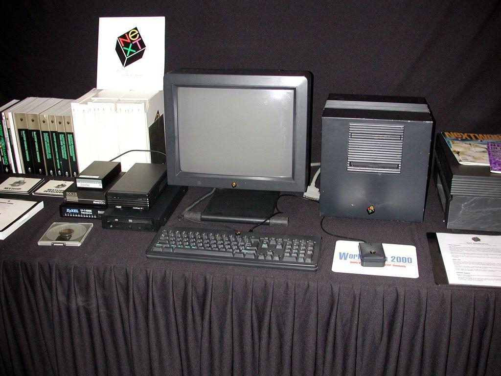 Next Computer Jpg 1024 768 Computer Computer History Old Computers