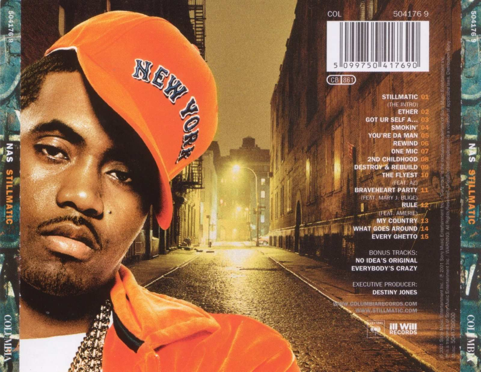 Image result for nas stillmatic back cover