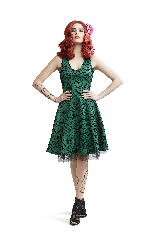 Disney Moana Border Print Dress | Hot Topic | buyable fashion ...