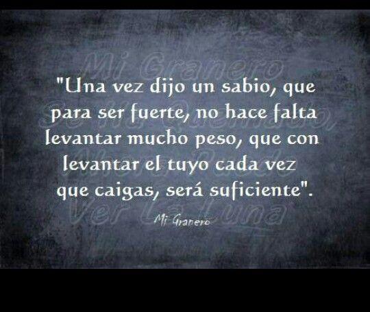 #Fuerza #caer #levantarse