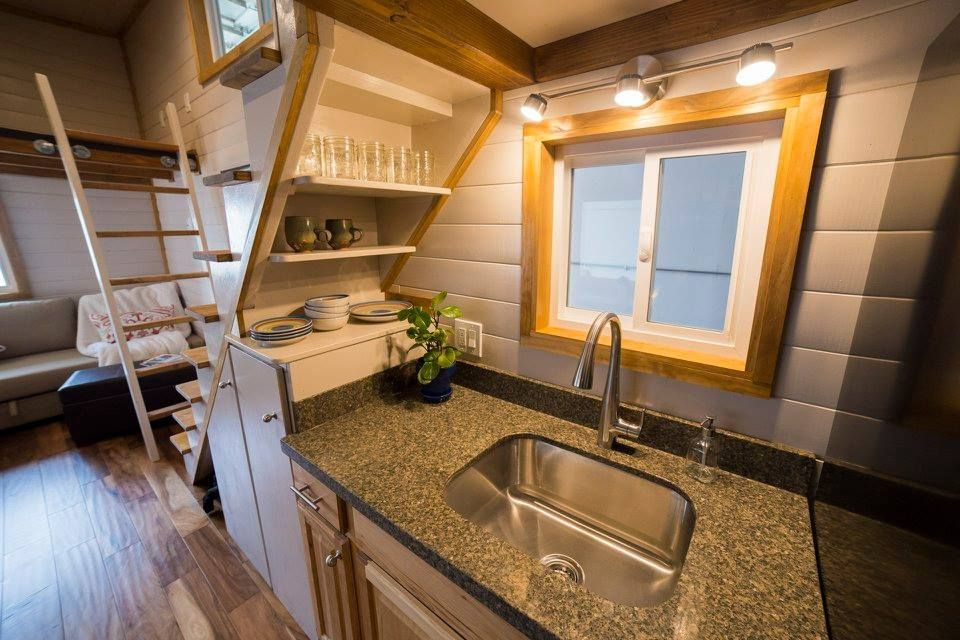 The big freedom a modern rustic tiny house with all the amenities and comforts