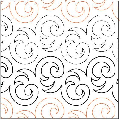 pantograph quilting patterns | Plush-quilting-pantograph-pattern ... : free pantographs for quilting - Adamdwight.com