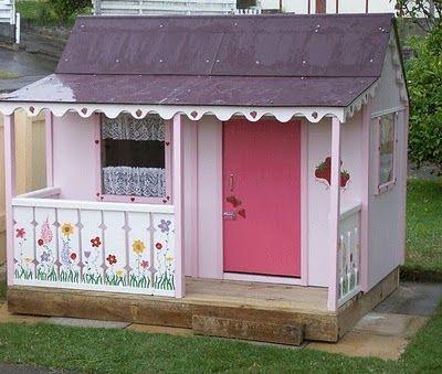 Casita jard n compras nia marc pinterest casa for Casita infantil jardin segunda mano
