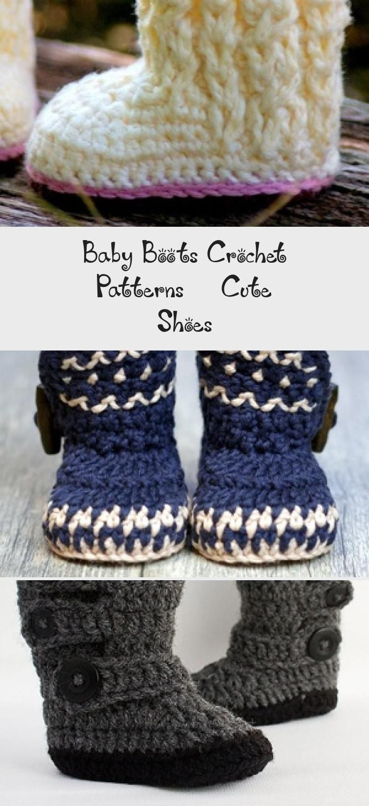 Make a cute pair of baby boots. baby boots crochet patterns - baby shoes crochet pattern- baby booties- amorecraftylife.com #crochet #crochetpattern #diy #baby #babycrochet # #crochetbabyboots
