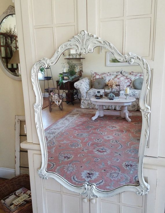 Sold Antique French Country Wall Mirror French Provincial Mirror