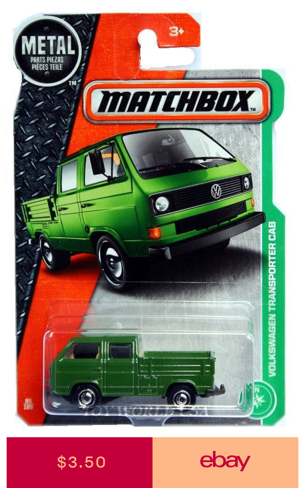 Matchbox Pre Built Diecast Scale Model Ground Vehicles Ebay Toys Hobbies Volkswagen Transporter Volkswagen Matchbox Cars