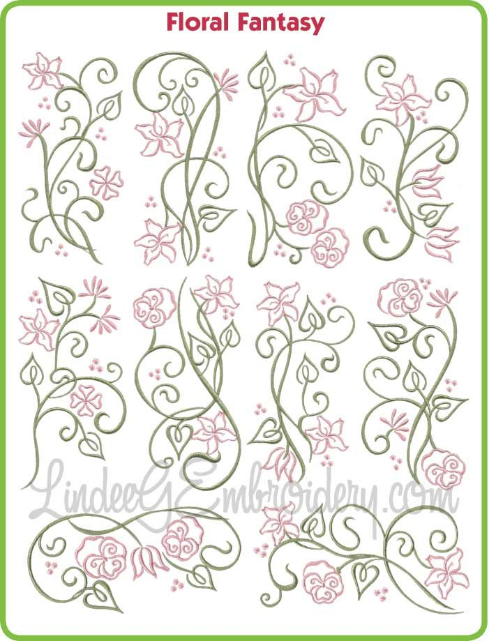 Machine Embroidery Patterns 21 Designs * * ROYAL Towel Set