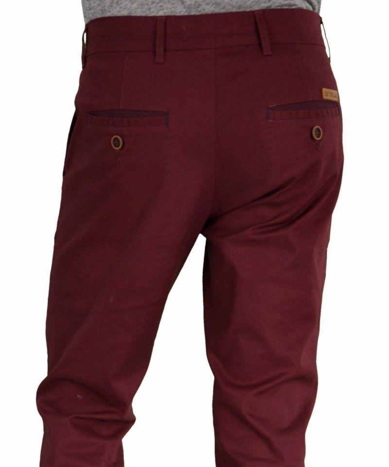 fa507fecdb0 Trial μπορντώ υφασμάτινο παντελόνι Taylor W16J | Aνδρικά παντελόνια ...