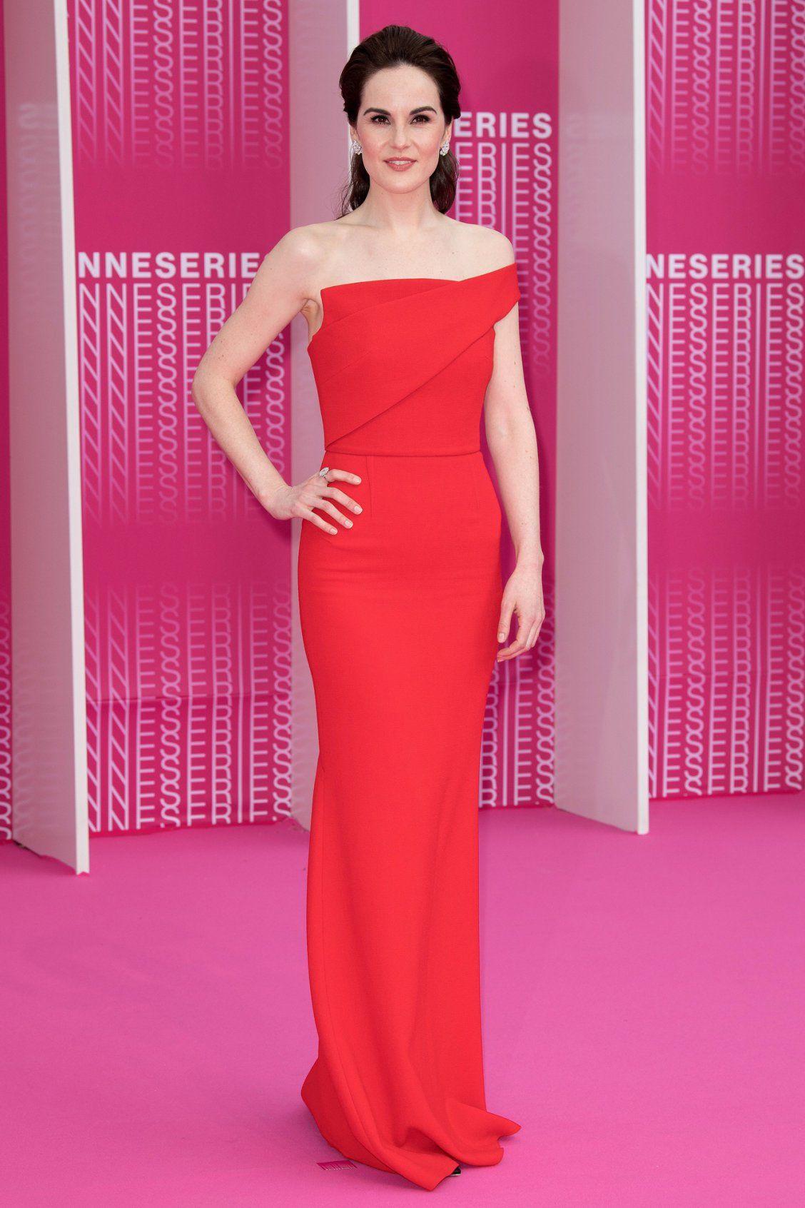 da67ed760d21 Karlie Kloss  Feminine Baby Pink Dress - and More Celebrity Outfits ...