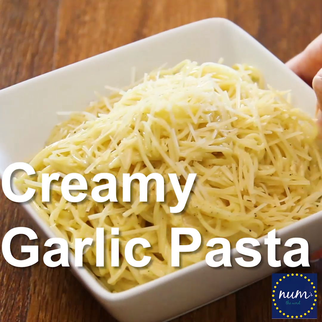 Creamy Garlic Pasta If you love flavorful one pot meals youve got to try our family favorite Creamy Garlic Pasta A one pot meal at its finest My kids always ask for secon...