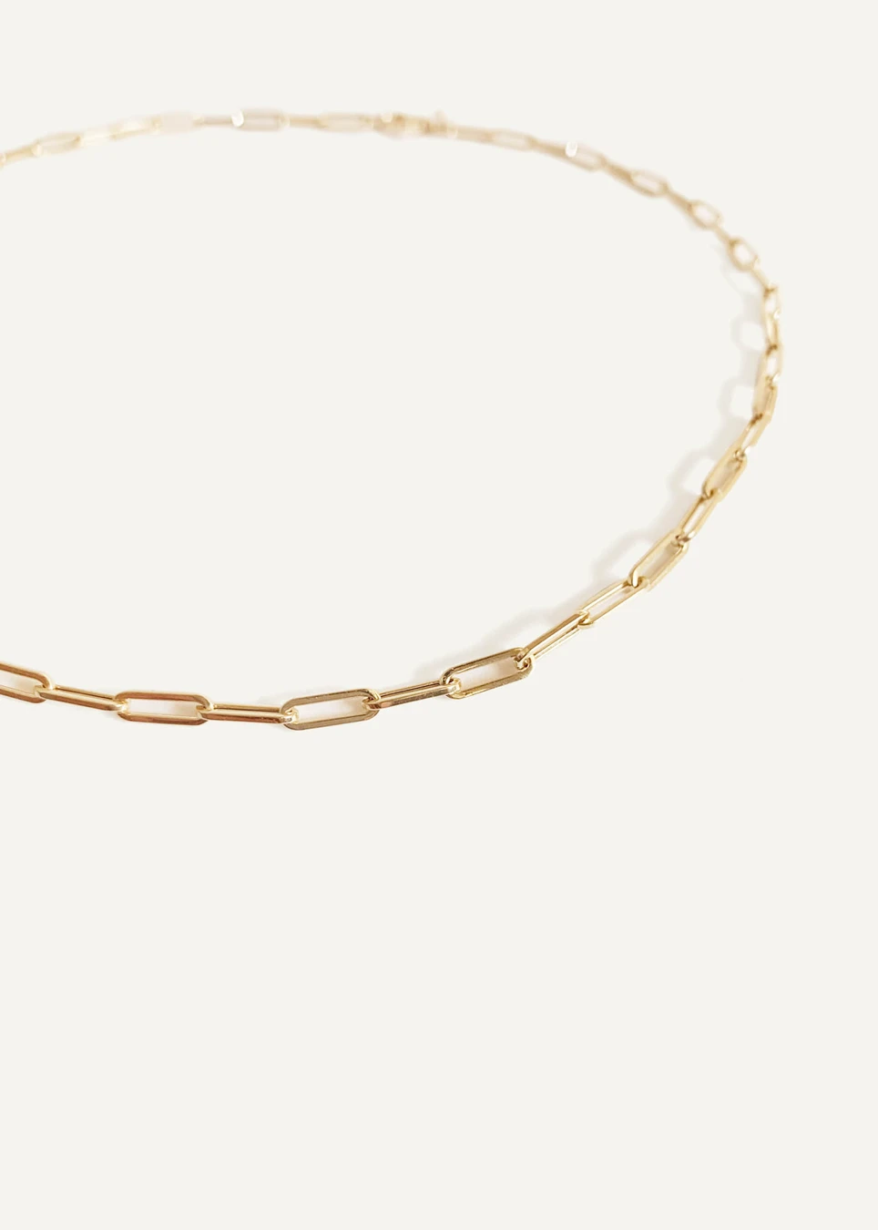Petite Link Chain Necklace Chain Link Necklace Chain Necklace Yellow Gold Chain
