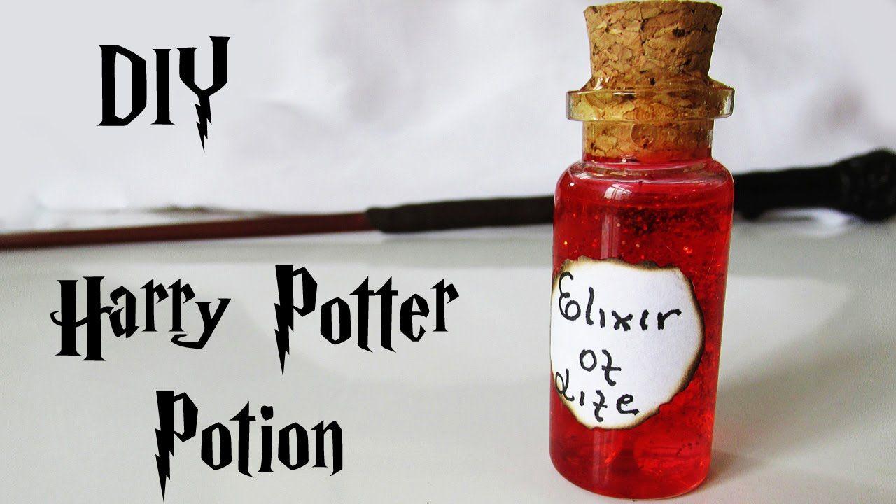 Diy po es do harry potter elixir da vida elixir of life potion tutorial