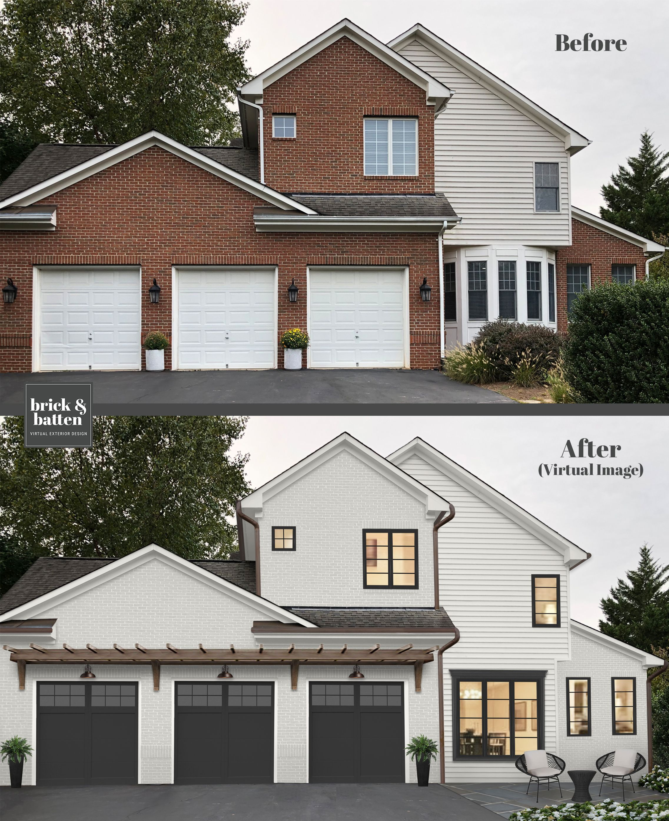 16 Best Paint Colors For Your Home S Exterior In 2020 Blog Brick Batten Brick Exterior House House Paint Exterior Painted Brick House