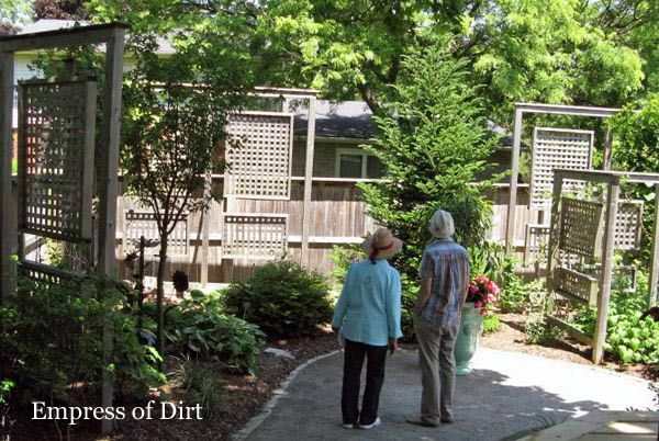 How to Make a Fence Taller Private garden Garden fencing and
