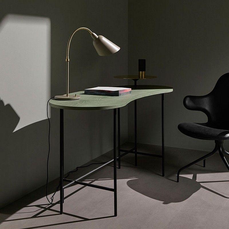 Lampe design scandinave Lampe Bellevue AJ8 H42 cm Gris beige
