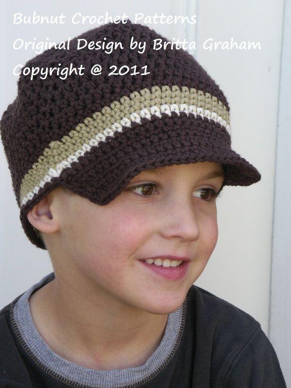 Crochet Hat Pattern - Easy Peasy Newsboy Crochet Pattern No.302 ...