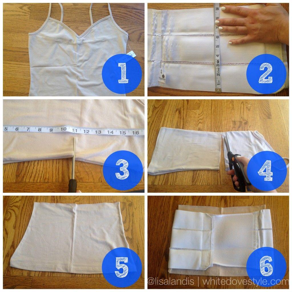 DIY No-Sew Abdominal Splint Liner