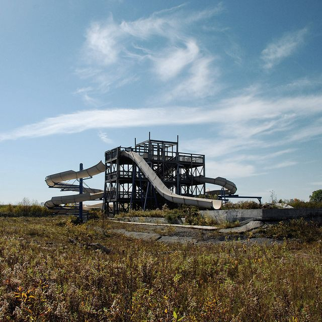 Abandoned Amusement Parks, Abandoned Water Parks
