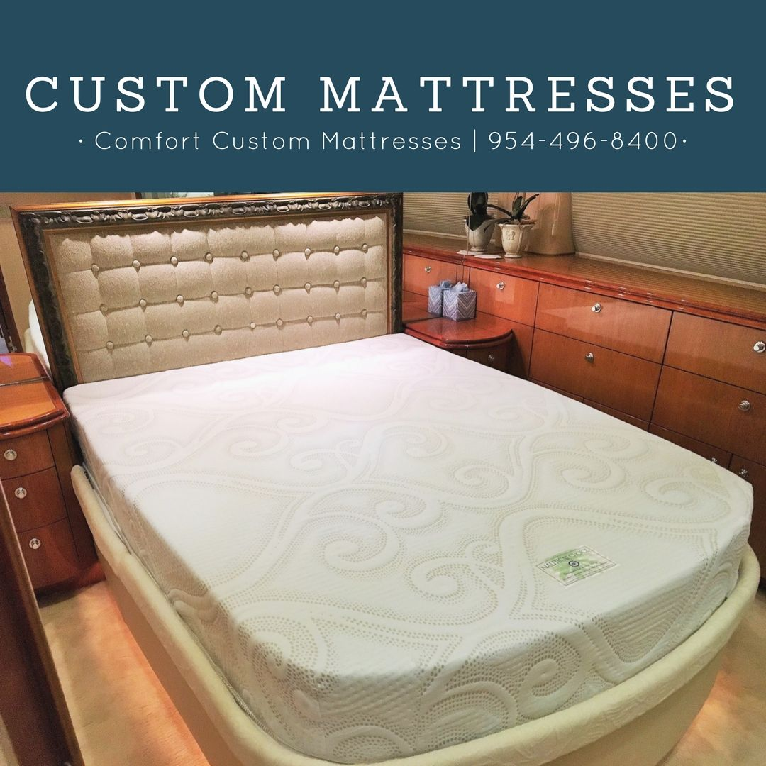 we manufacture custom mattresses from top of the line materials such