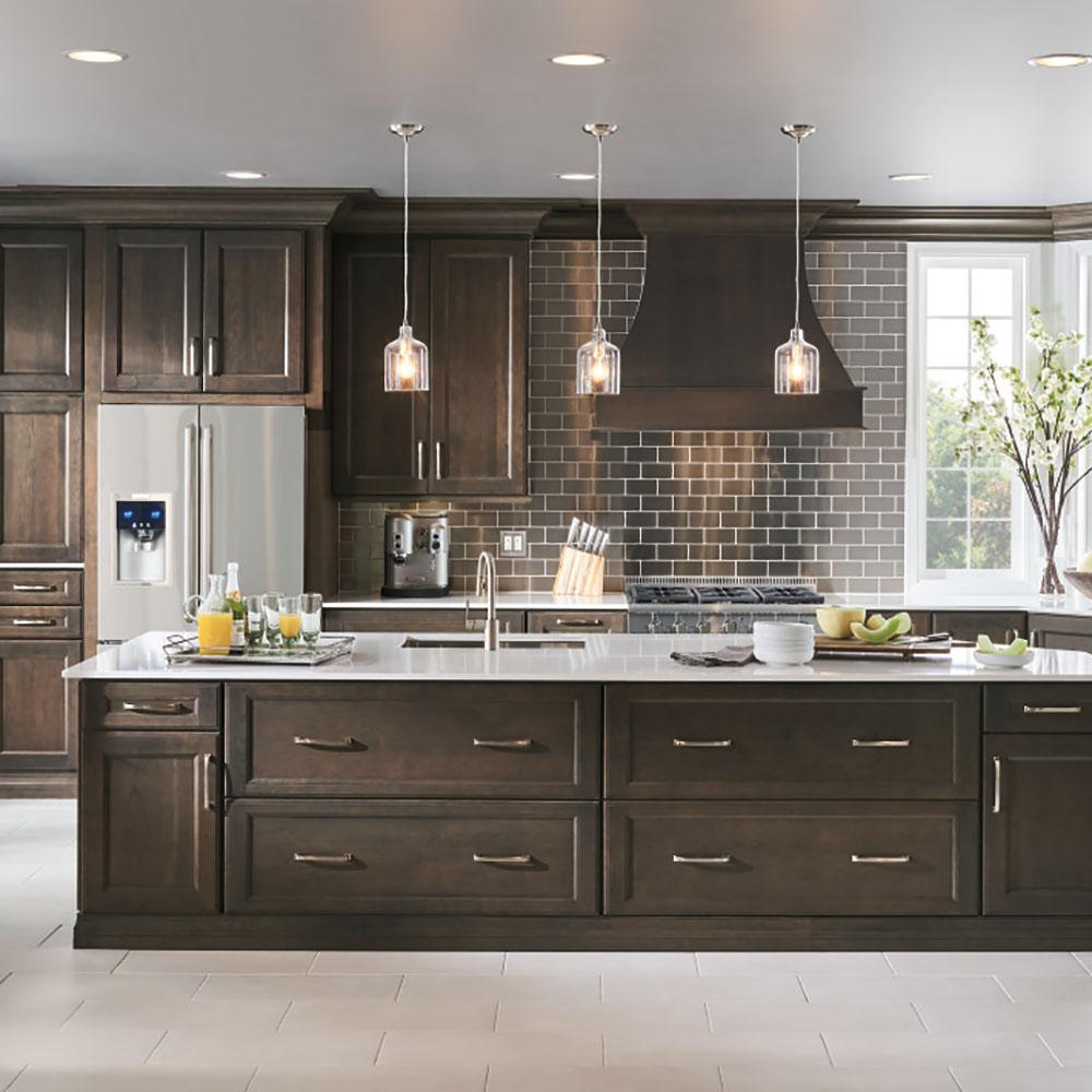 Thomasville Artisan Custom Kitchen Cabinets Shown In Farmhouse Style Hdinsttsbx The Home Depot Kitchen Cabinets Prices Home Depot Kitchen Kitchen Cabinetry Design