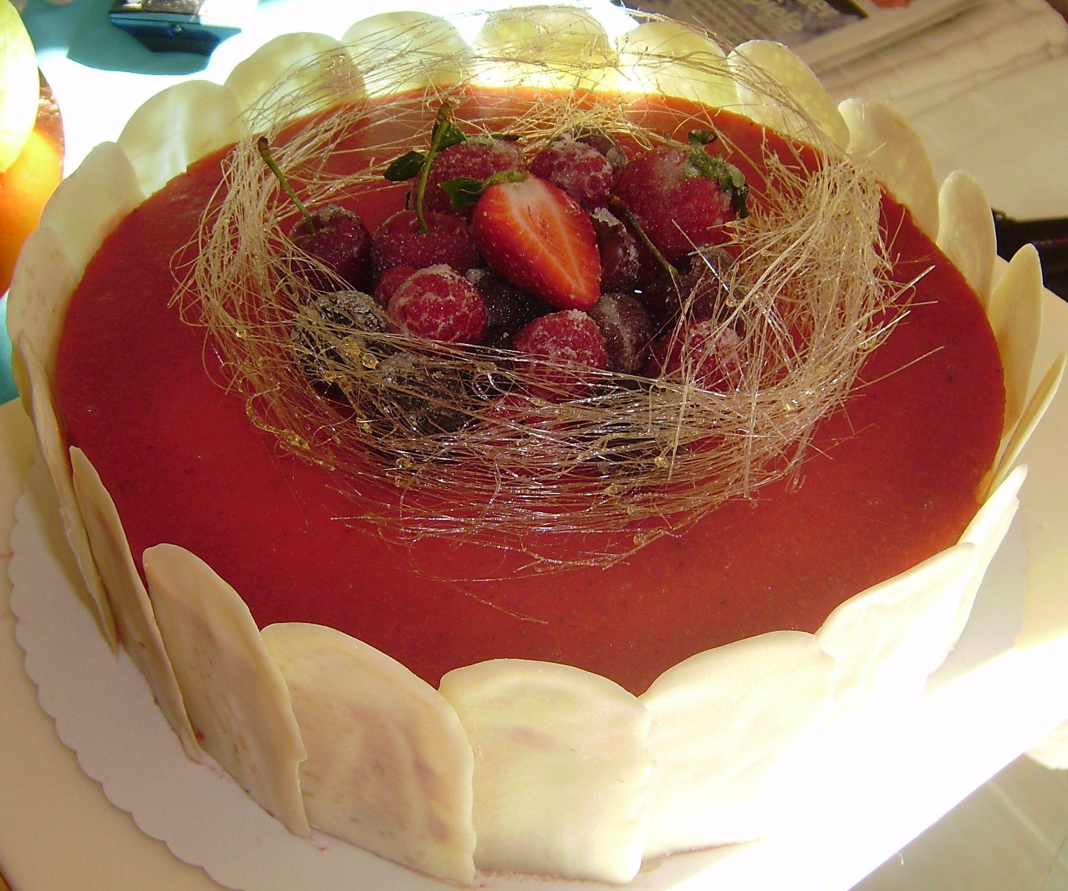 Erdbeer-Joghurtcreme-Torte