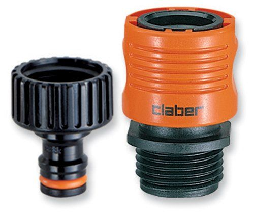 Claber 8458 Faucet To Garden Hose Quick Connector Set Check This Out By Going To The Link At The Image Hose Connector Garden Hose Garden Watering System