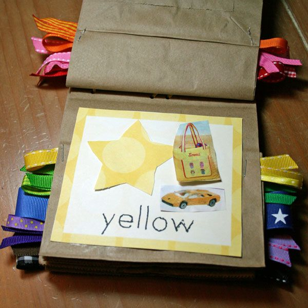 Free Printable Color Book {preschool Craft} Color Activities, Preschool  Crafts, Preschool Colors