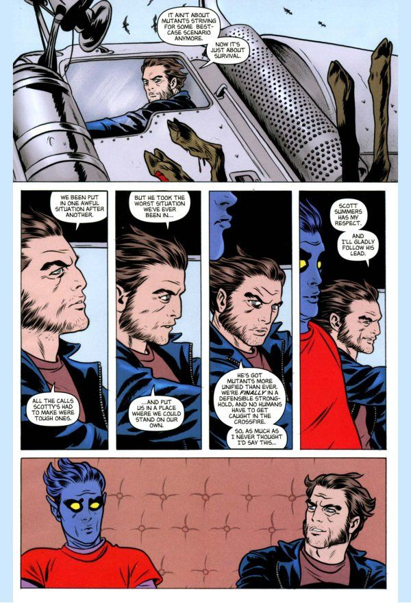 Cyclops Comicnewbies Page 4 Cyclops Nightcrawler Wolverine