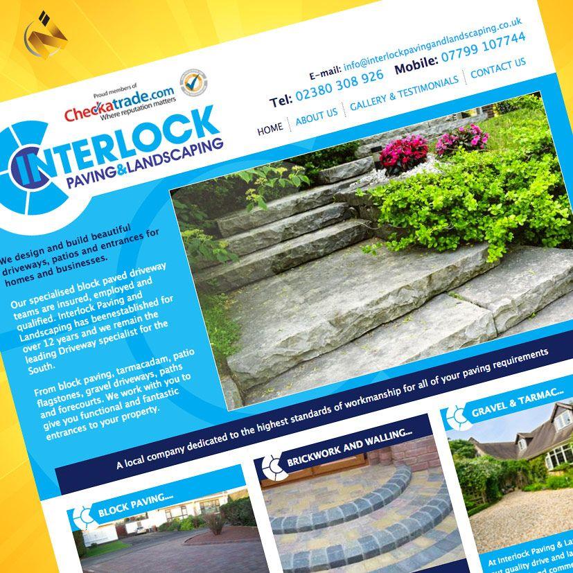 Interlock Paving Website Design