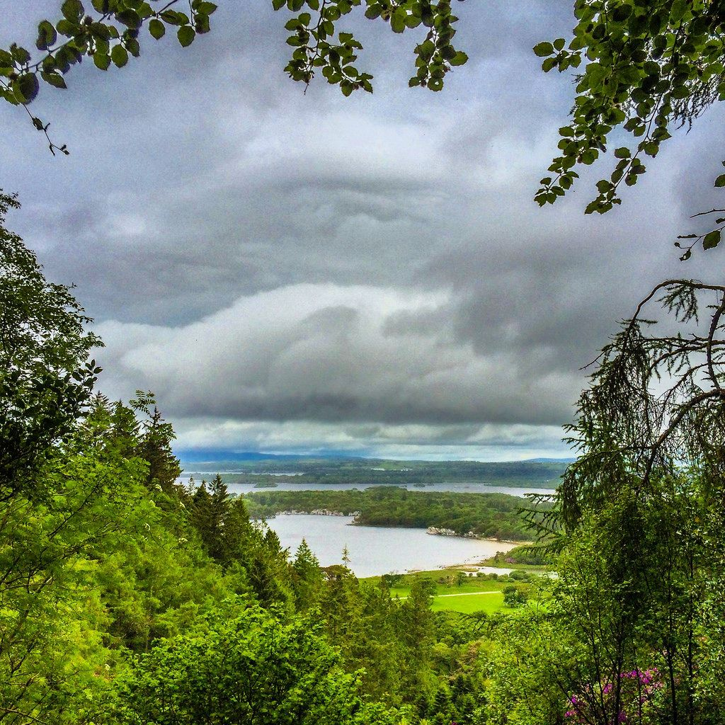 Torc Waterfall Co Kerry Ireland Photo Photography Iphone Iphone5s Iphoneography Ireland Landscape Travel Outdoor Nature Sky Clouds Lake