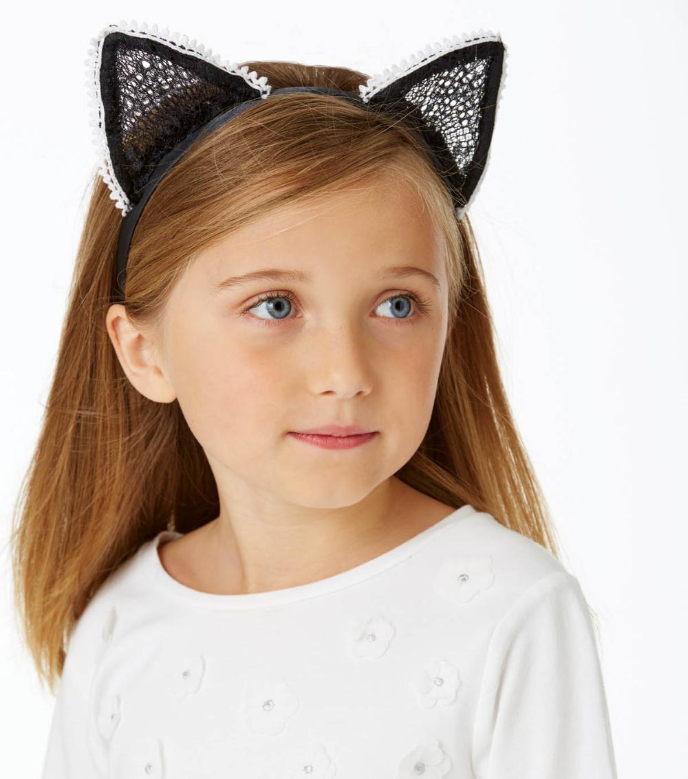How To Make A Cat Ear Headband With Trim Cat ears headband