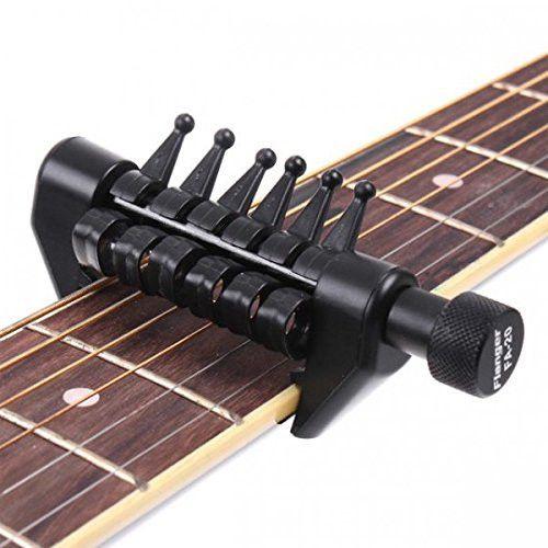 Flexi Capo 100 Adjustable Guitar Capo Capos Guitar Tuning Guitar
