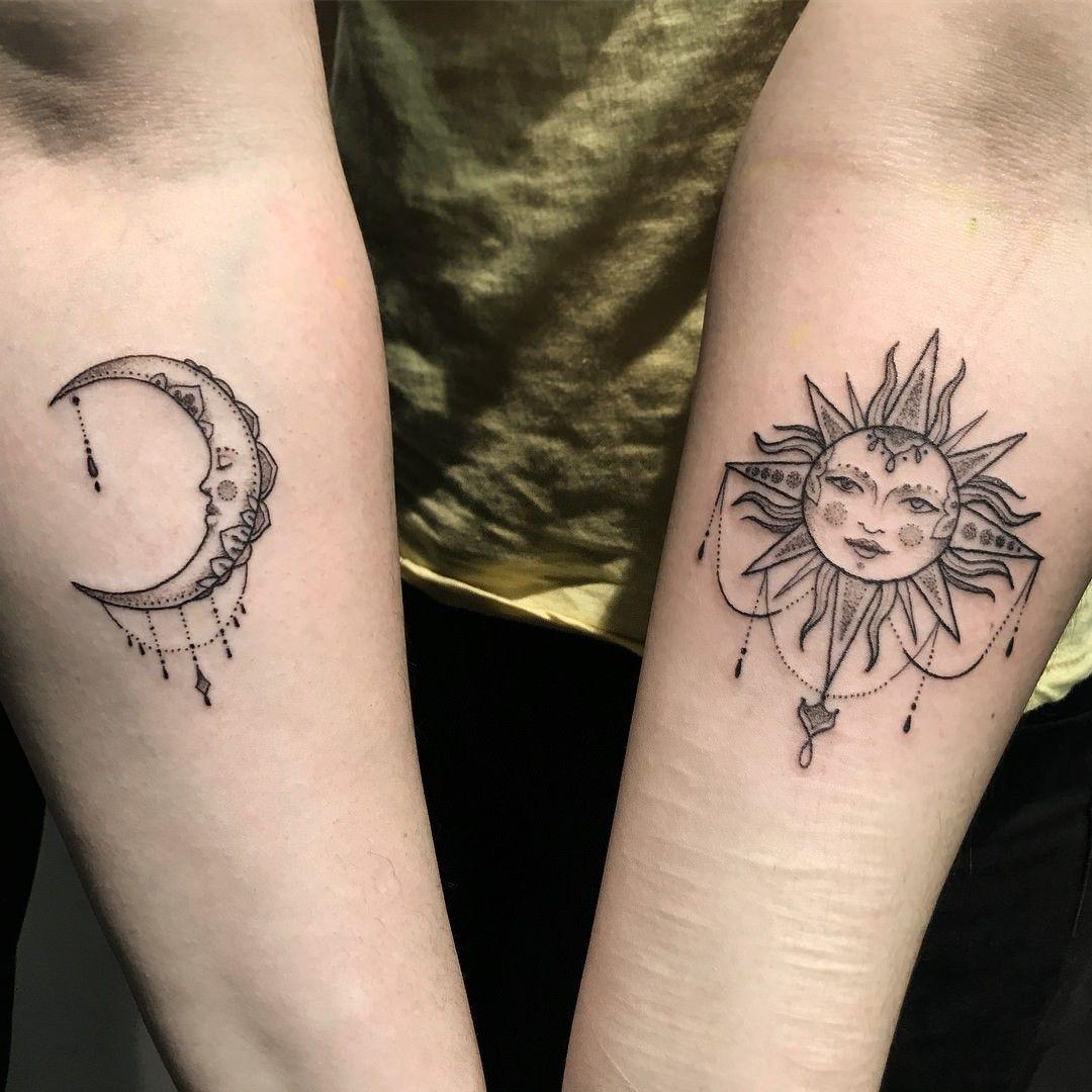 Best Moon Tattoo Designs & Meanings 154 Outstanding Sun