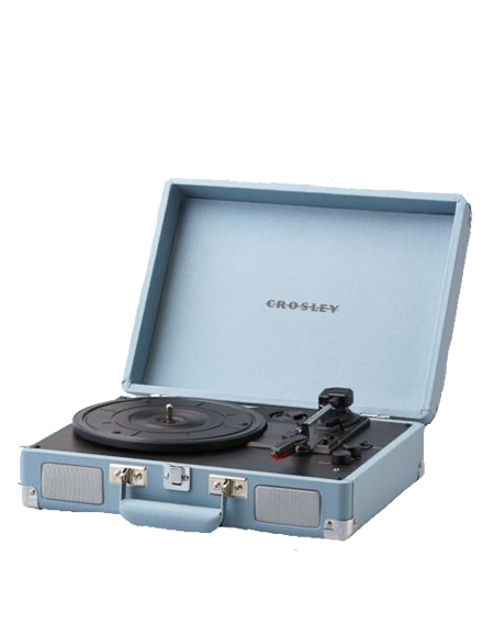 Blue Record Player Png