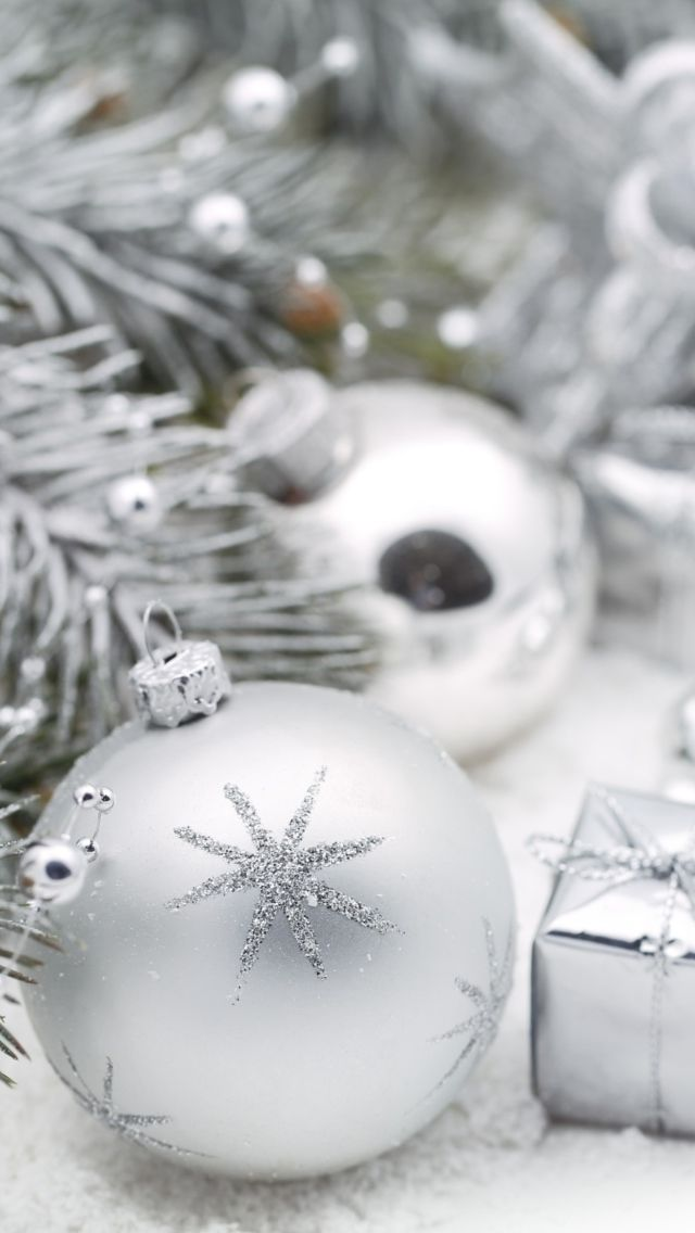Silver Christmas Wallpaper For Iphone 5 Silver Christmas Wallpaper Wallpaper Iphone Christmas Christmas Wallpaper