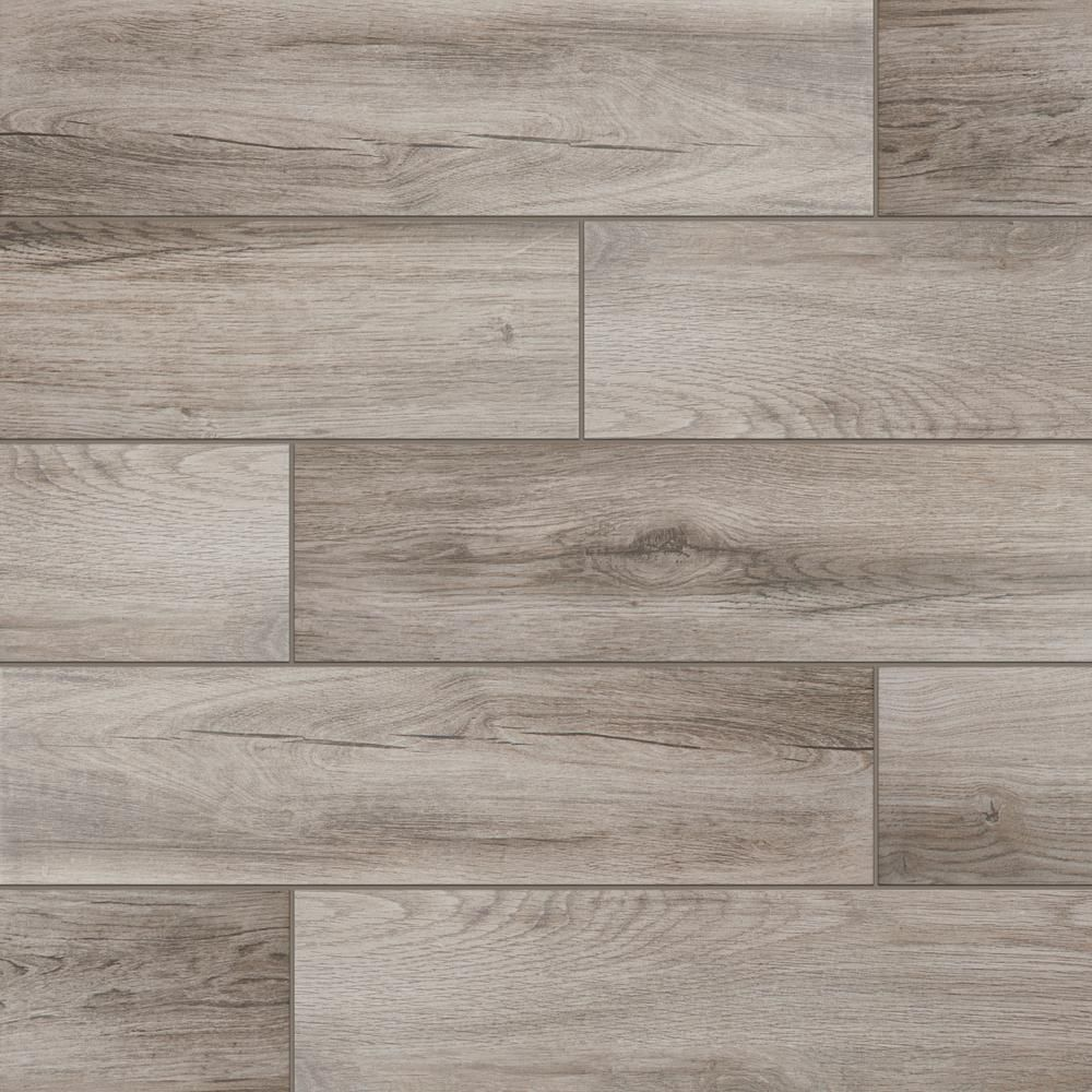 Daltile EverMore Shadow Wood 6 in. x 24 in. Porcelain ...