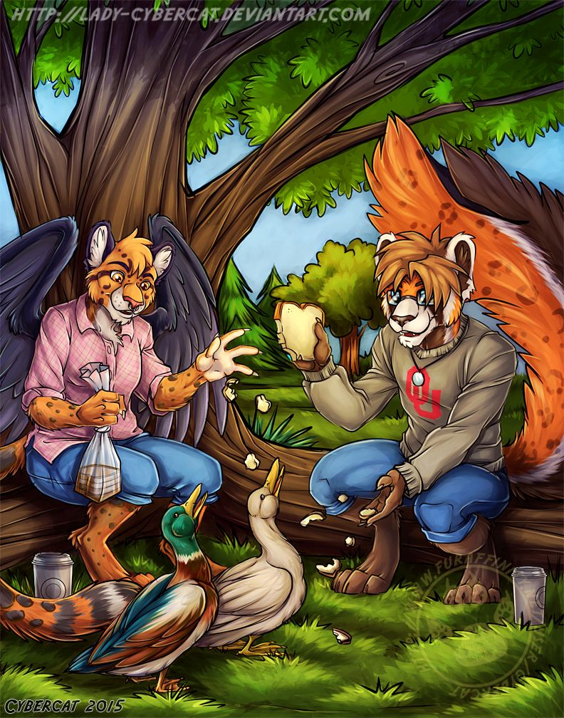 Mewrei Commission Duck Park by lady-cybercat on DeviantArt | Furry ...