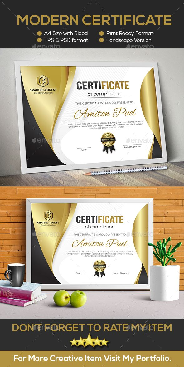 Modern Certificate Design Template Vector EPS  AI Illustrator     Modern Certificate Design Template Vector EPS  AI Illustrator   Download   https