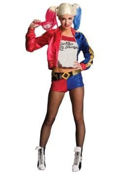 womens harley quinn costume suicide squad harley quinn adult costume incredibly enough you can now be harley quinn from the new movie sucide squad