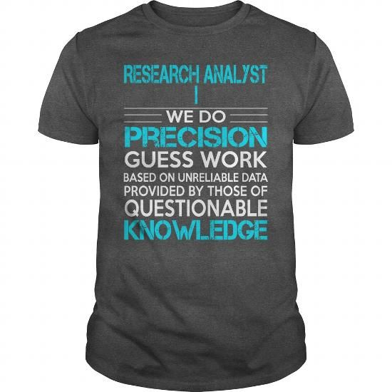 Awesome Tee For Research Analyst I T Shirts, Hoodie Sweatshirts