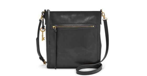 (It's easy to) be prepared thanks to Emma's structured silhouette and extra storage pockets when—and where—they're needed most. Whether you're hitting the town or the trails, carry your (survival) essentials with ease in our smooth glazed leather crossbody. (Bonus: It features adjustable straps for easy access and transport.)Get (tech) smart—this product is compatible with the iPad® mini.*Will be shipped separately from other products