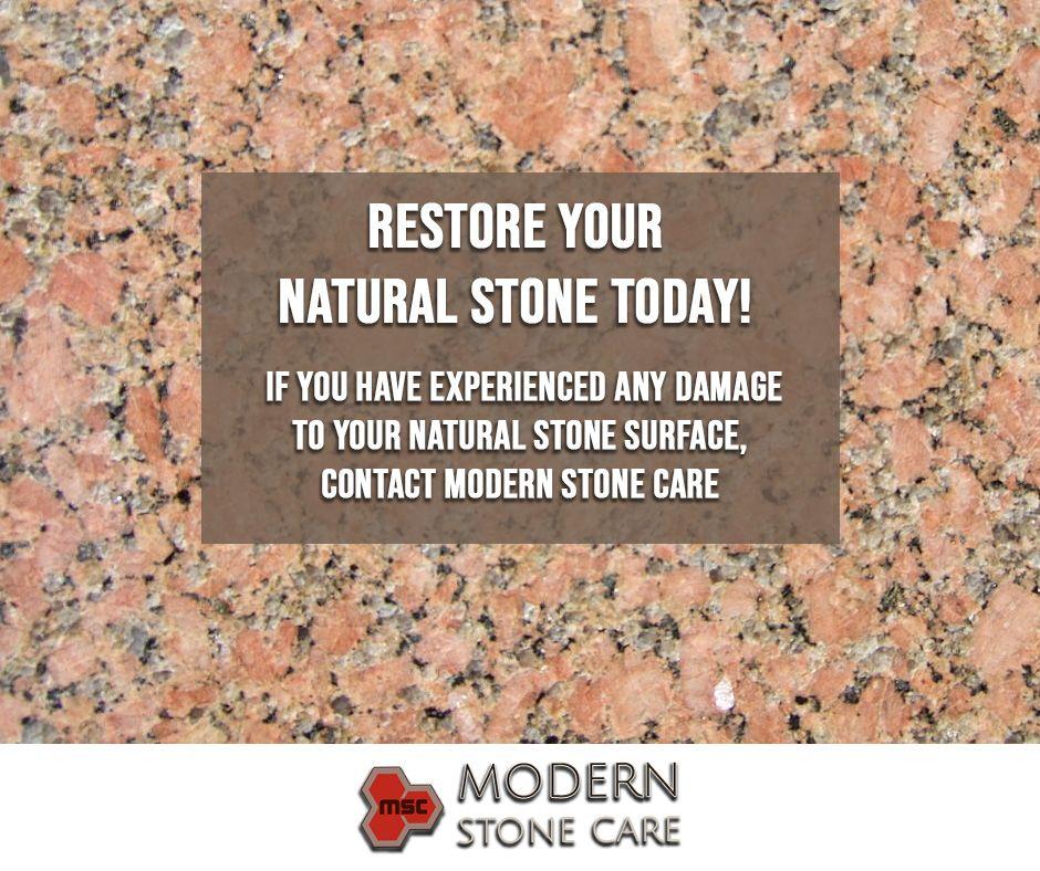 Natural Stone Restoration in League City TX Restoration