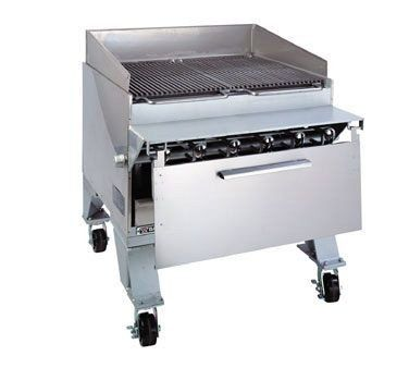 Bakers Pride Dante Extra Heavy Duty CHJ Floor Cajun Radiant Gas Char Broiler 57 34 x 36 14 x 40 inch  1 each *** Check out this great product from Amazon.com