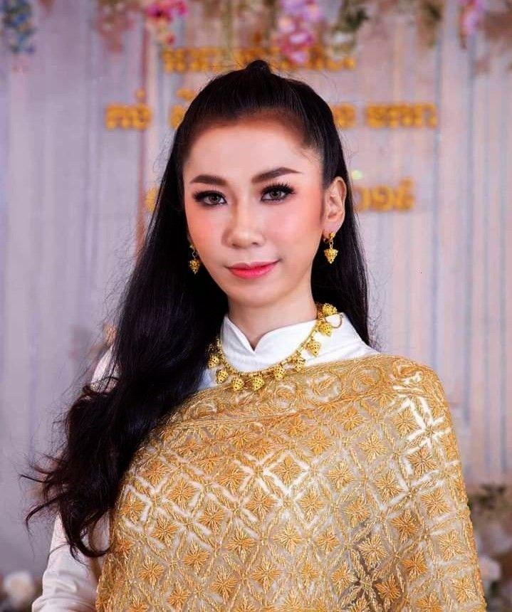 national clothing. Thai siwalai dress.#Thai costume.# Thai style.  ( by khmer models )Thailand's na