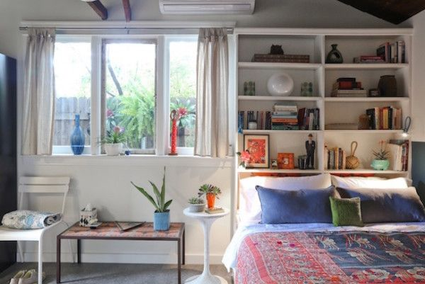 17 Bookshelves That Double As Headboards Tall Bed Bookshelf Bed Bookshelves In Bedroom
