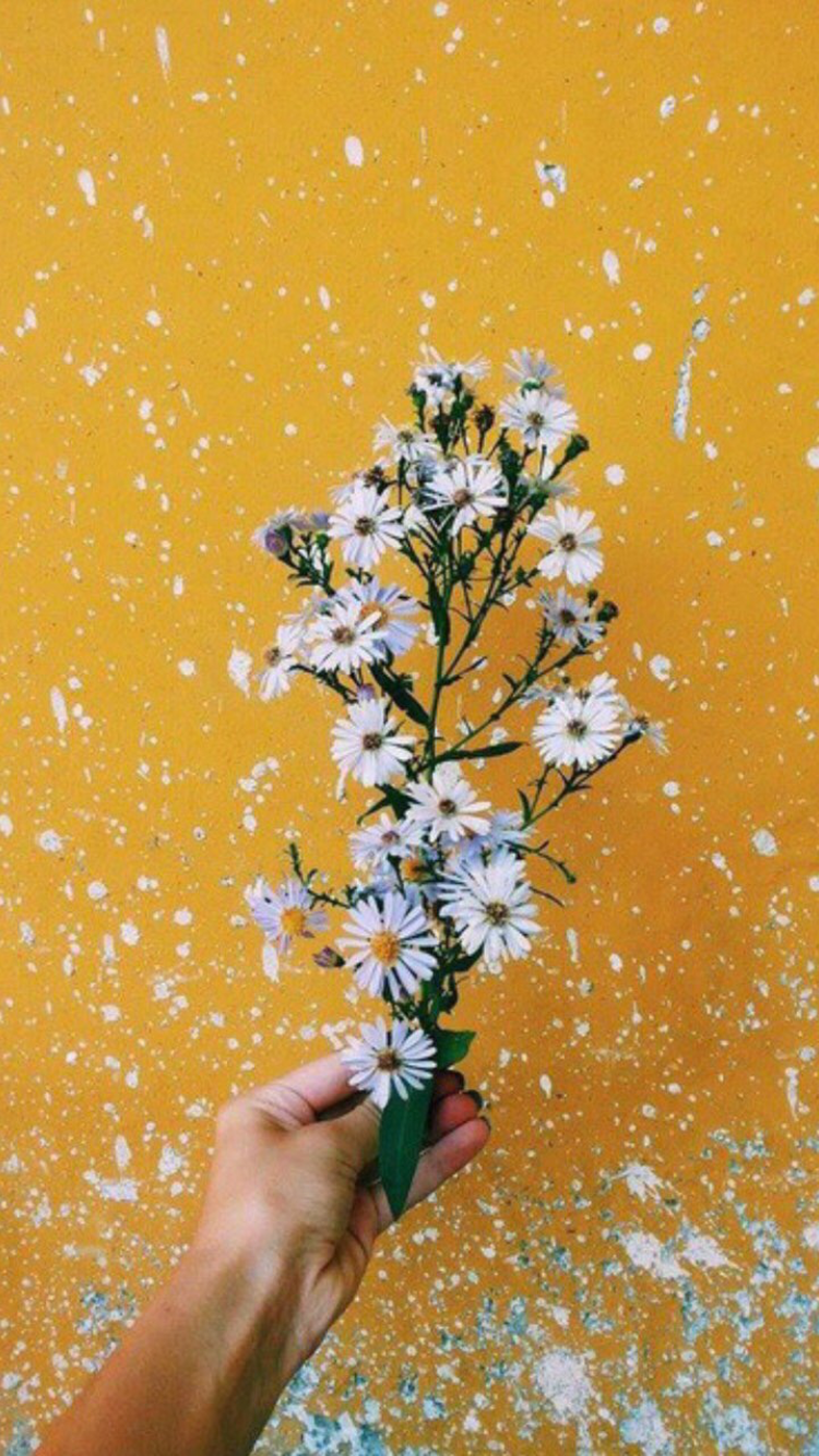 Yellow Aesthetic Background Pinterest
