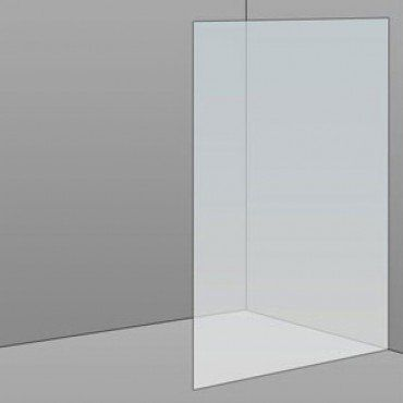 1000mm Frameless Glass Panel 1000x2100x10mm
