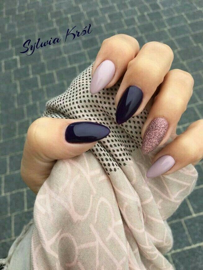 Pin by BrAvE GiRl on NaiL StylE   Pinterest   Winter nails, Winter ...