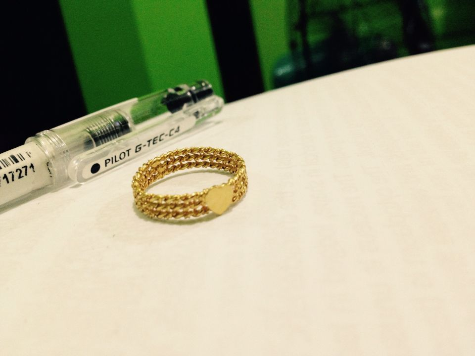 21 karat gold ring Rings Pinterest Gold rings Ring and 21st
