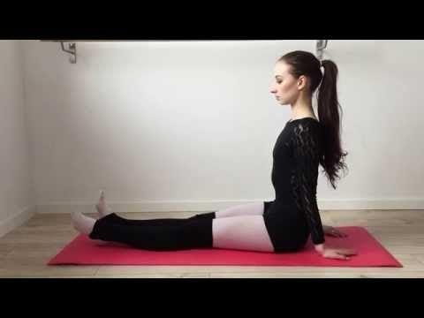 ▶ Basic Ballet Warm Up & Stretching Workout - YouTube